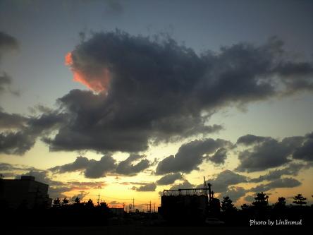 そこだけ染まった雲は・・・-1.jpg