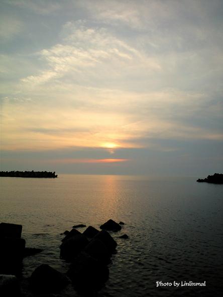 金石海岸の夕日B-1.jpg